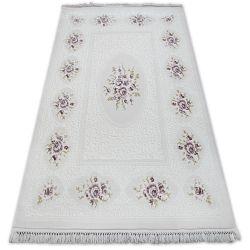 Carpet ACRYLIC MIRADA 5406 Purple ( Murdum ) Fringe