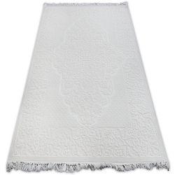 Carpet ACRYLIC MIRADA 5414 Ivory ( Kemik ) Fringe