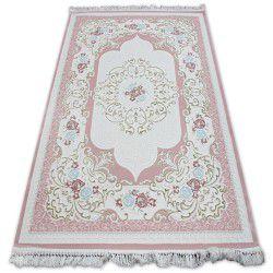 Carpet ACRYLIC MIRADA 5411 Pink ( Pembe ) Fringe
