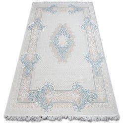 Teppich ACRYL MIRADA 5417 Blau ( Mavi ) Franse