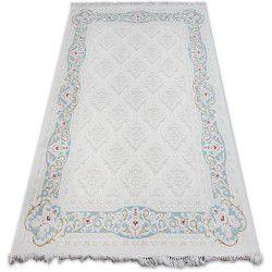 Teppich ACRYL MIRADA 5418 Blau ( Mavi ) Franse