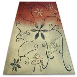 Carpet FOLK ZARNICKA coral