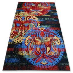 Carpet FOLK FAMELIO black