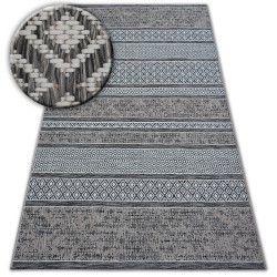 Covor sisal Loft 21118 Boho fildeş argintiu gri