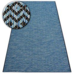 Carpet SISAL LOFT 21144 blue/black/silver