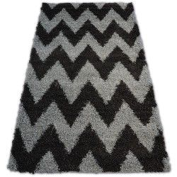 Carpet SHAGGY GALAXY ZIGZAG - 8176 grey anthracite