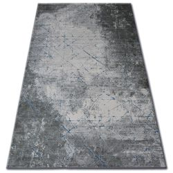 Carpet ACRYLIC YAZZ 6076 CRACKED CONCRETE blue / grey