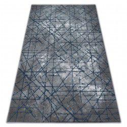 Koberec ACRYLOVY VALENCIA 3949 INDUSTRIAL šedá / modrý