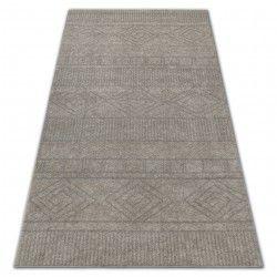 Carpet SOFT 8040 AZTEC BOHO cream / light beige