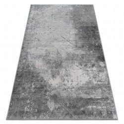 Akril yazz szőnyeg 6076 RÖGZÍTETT KONKrét szürke / kék
