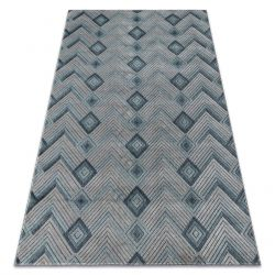 Carpet SIERRA G5015 Herringbone Flat woven blue