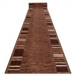 Доріжка килимова антиковзаючий ADAGIO коричневий