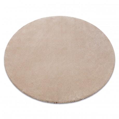 Teppich rund STAR beige