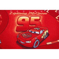 Carpet children DISNEY CARS red