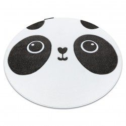 Carpet PETIT PANDA circle white