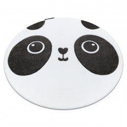 Килим PETIT PANDA коло білий