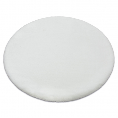 Szőnyeg BUNNY kör fehér