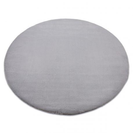 Koberec BUNNY kruh stříbrný