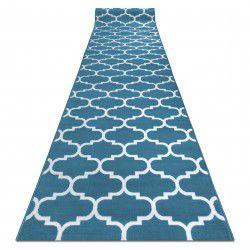 CHODNIK BCF ANNA Trellis 2960 niebieski koniczyna marokańska