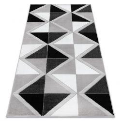Килим BCF ANNA Trigonal 2964 трикутники сірий