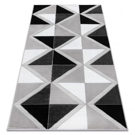 Dywan BCF ANNA Trigonal 2964 Trójkąty szary