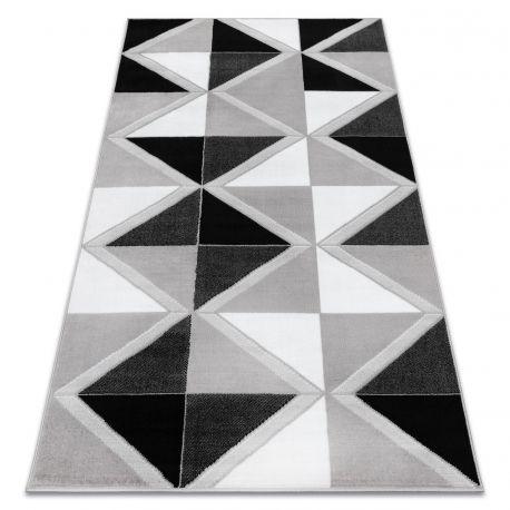 Teppich BCF ANNA Trigonal 2964 Dreiecke grau