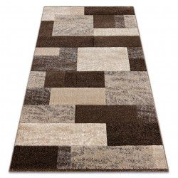 Tapis FEEL 5756/15044 RECTANGLES marron