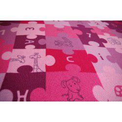 Passadeira carpete PUZZLE roxo
