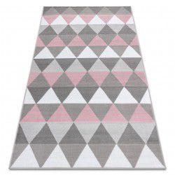 Carpet BCF ANNA Triangles 2965 Triangles pink