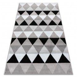 Килим BCF ANNA Triangles 2965 трикутники сірий