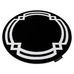 Carpet HAMPTON Lux circle black