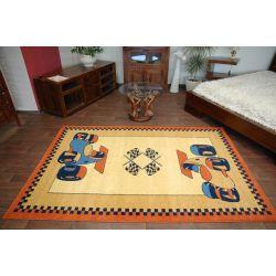 Teppich FRYZ DIXI ocker