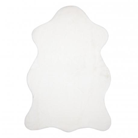 Carpet NEW DOLLY skin G4337-4 white IMITATION OF RABBIT FUR