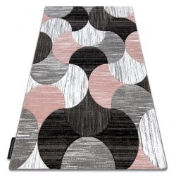Tapis ALTER Geo coquillages rose