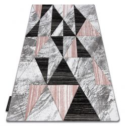 Килим ALTER Nano трикутники рожевий