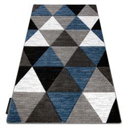 Covor ALTER Rino triunghiuri albastru