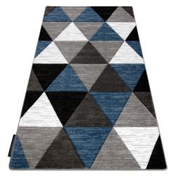 Tapis ALTER Rino triangle bleu