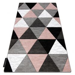 Килим ALTER Rino трикутники рожевий