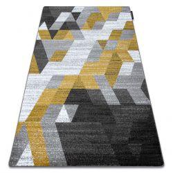 Tappeto INTERO TECHNIC 3D quadri triangoli oro