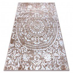 Carpet RETRO HE183 beige / white Vintage