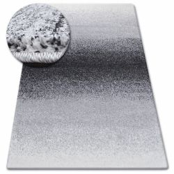 Alfombra SHADOW 8621 negro/blanco