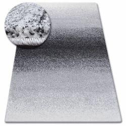 Kulatý koberec SHADOW 8621 černý / bílý
