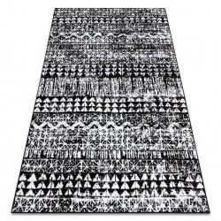 Carpet RETRO HE187 black / cream Vintage