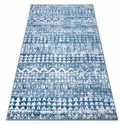 szőnyeg RETRO HE187 kék / krém Vintage