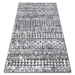 Carpet RETRO HE187 grey / cream Vintage