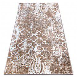 Teppich RETRO HE190 beige / weiß Vintage