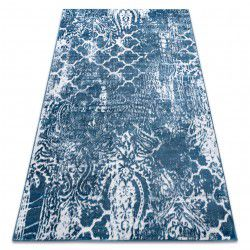 szőnyeg RETRO HE190 kék / krém Vintage
