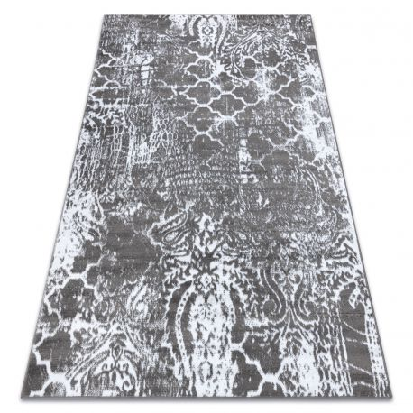 Carpet RETRO HE190 grey / cream Vintage