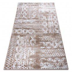 Teppich RETRO HE191 beige / weiß Vintage