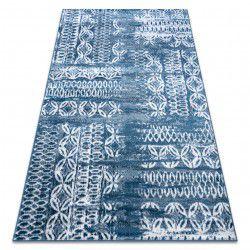 Teppich RETRO HE191 blau / sahne Vintage
